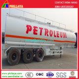 3 as 3055cbm de Zware Semi Aanhangwagen van de Tank van de Brandstof van de Ruwe olie