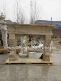 Низкая цена травертина камин (Си-MF234)