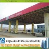 Construction de structure métallique de bâti de l'espace