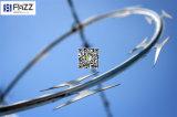 電流を通されたかみそりの刃の有刺鉄線(CBT 65、CBT 60、BTO-22、BTO-12、BTO18)