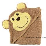 Хлопка младенца с капюшоном ванны одеяла полотенце 100% ванны