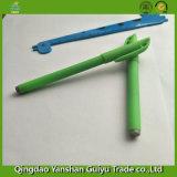 Pena verde do gel com ponto do aço de 0.7mm & plástico de Eco