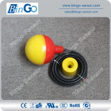 Interruttore di galleggiante elettrico di colore pp del doppio del cavo del livello d'acqua PP/Rubber