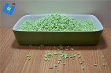 Litera de gato del queso de soja -- Olor del té verde con control del olor y el grupo duro