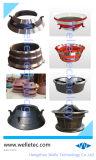 鍛造材の部品の採鉱産業を押すカスタマイズされた精密円錐形の鋳造