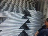 一時チェーン・リンクの塀か移動可能な塀