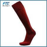 fait sur mesure Logo Chaussettes de football de chaussettes de chaussettes de football de haute qualité
