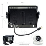 """7 """" Systeem van de Mening van de Auto van de Monitor van het Scherm van de Vierling het Achter met Camera CCD"""