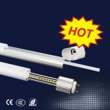 Factor de potencia de alta garantía de calidad del sensor LED T8 luz del tubo 3 años de garantía