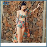 Популярный Swimsuit Boho с шифоновый маскировкой