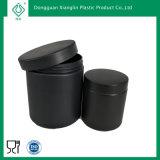 Bottiglia nera della polvere della proteina dell'animale domestico