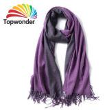Pashmina шарфом, акрил, полиэстер и хлопок или шерсть, низкая MOQ и много цветов