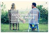 El arte de la pared de acrílico personalizadas con Impresión Digital UV