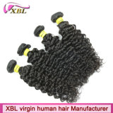 Xbl Top Sale Curly Virgin Remy Extensão do cabelo humano