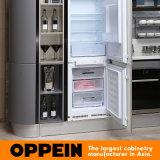 Keukenkast Van uitstekende kwaliteit van de Lak van Oppein de Moderne Houten Modulaire (OP15-036)