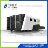 Enclosed полный резец лазера волокна металла предохранения 2000W с крышкой 3015