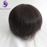 Toupee basso indiano dei capelli umani di Remy mono (TP28)