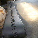 Pista de caucho de alta calidad de la pavimentadora