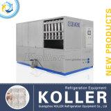 PLC van Koller 5tons Machine van het Ijsblokje van het Controlemechanisme de Automatische op Heet Gebied