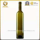 最上質の着色された750mlガラスビンのワイン・ボトル(1177年)