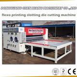 A impressora semiautomática Slotter do cartão de 2 cores e morre o cortador