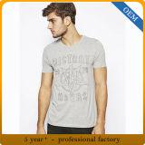 T-shirt estampé par écran de la mode des hommes faits sur commande