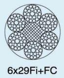 Ungalvanized 철강선 밧줄 케이블 6X29fi+FC