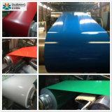Aço revestido de cor Prime Prepainted PPGI bobina de aço galvanizado