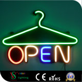 Outdoors Neon de LED de abrir para decoração de loja