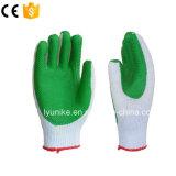 Обрезиненные хлопка линии перчатки
