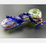 Pijp van het Glas van de Draak van 3.74 Duim de Pan van de Pijp van de Rook van de Tabak van de Filter