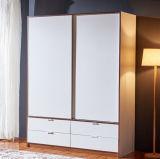 Moderner Schlafzimmer-Schrank-preiswerter Garderoben-Wandschrank