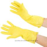 100% резиновые водонепроницаемый долго манжеты для домашних хозяйств с другой стороны Латексные перчатки