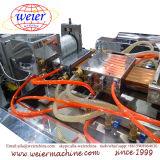 Línea compuesta de madera suelo de la protuberancia de la tarjeta del Decking de WPC de la terraza que hace la máquina