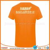 최신 판매 편리한 로고에 의하여 인쇄되는 싼 선전용 t-셔츠