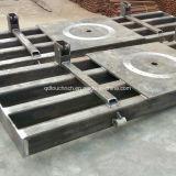 Fabrication en métal personnalisée par soudage du châssis en acier et l'usinage