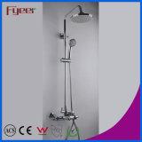 Fyeerの温度の敏感な浴室のコックのミキサーのサーモスタットのシャワーセット