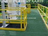 12.7mm tiefe X50.8mm quadratische Ineinander greifen-Fiberglass/FRP geformte Vergitterung mit hochfestem korrosionsbeständigem