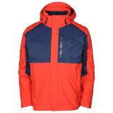 Os homens de escalada da piscina quebra-vento casaco quente de alpinismo e cubra com o logotipo personalizado