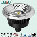 Base GU10 AR111 LED avec effet de lumière halogène parfait