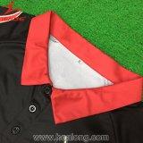 Healong中国の工場価格のスポーツの摩耗によって個人化される男女兼用の昇華ポロシャツ