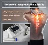 Máquina Extracprporeal Eswt onda de choque Shockwave para terapia de codo de tenista La epicondilitis lateral