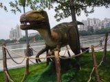 Modèle fait sur commande de dinosaur d'Animatronic de dinosaur d'Animatronic de stationnement