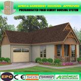 A1 ignifugan la casa galvanizada casa prefabricada prefabricada móvil del edificio de marco de acero