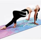 Nuova pelle scamosciata Microfiber del TPE di disegno cheResiste alla stuoia organica di yoga