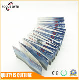 Карточка билета толщины 0.6mm MIFARE Ultralight c RFID цены по прейскуранту завода-изготовителя бумажная