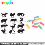 La spugna espandentesi del crescente della capsula delle creature animale molle magico della gomma piuma scherza il giocattolo educativo