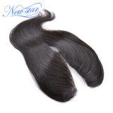 Chiusura brasiliana diritta del merletto della parte dei capelli umani U