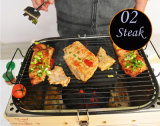 Industriële Openlucht Rookloze BBQ van de Houtskool Kebab Grill (zo-02)