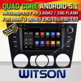 チップセット1080P 16g ROM WiFi 3GのインターネットDVRサポート(A5733)とのBMW 3シリーズE90/E91/E92/E93 2005-2012年のためのWitsonのアンドロイド5.1車DVD GPS